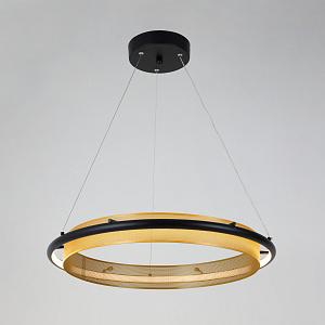 Подвесной светильник с системой умный дом Eurosvet Imperio 90241/1 черный/ золото Smart