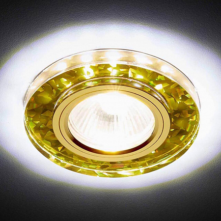 Встраиваемый светодиодный светильник Ambrella light Led S225 WH/G/WH