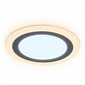 Встраиваемый светодиодный светильник Ambrella light Downlight DCR376