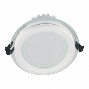 Встраиваемый светодиодный светильник Lumina Deco Saleto LDC 8097-ROUND-GL-12WSMD-D160 WT