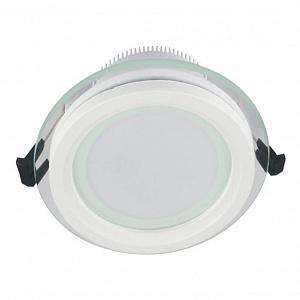 Встраиваемый светодиодный светильник Lumina Deco Saleto LDC 8097-ROUND-GL-18WSMD-D200 WT