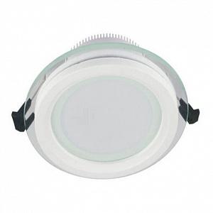 Встраиваемый светодиодный светильник Lumina Deco Saleto LDC 8097-ROUND-GL-9WSMD-D120 WT