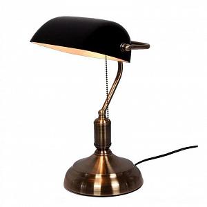 Настольная лампа Lumina Deco Banker LDT 305 BK