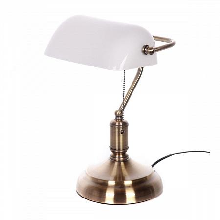 Настольная лампа Lumina Deco Banker LDT 305 WT