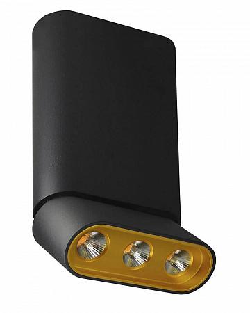 Светодиодный спот Lumien Hall Фергус 8005/3CM-BK-GD