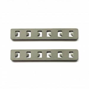 Прямой соединитель для встраиваемого магнитного шинопровода (2 шт) ST Luce ST005.749.00
