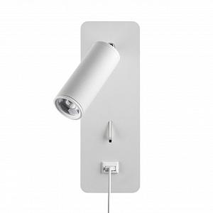 Настенный светильник c USB зарядкой Odeon Light BILL 4300/3WL