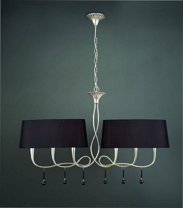 Подвесной светильник Mantra Paola Painted Silver 3531