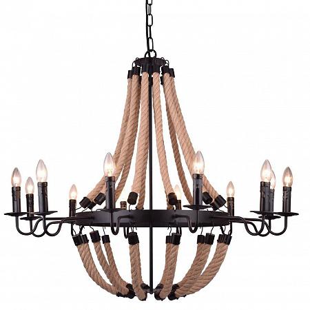 Подвесная люстра Arte Lamp Marsiglia A8956LM-12BK