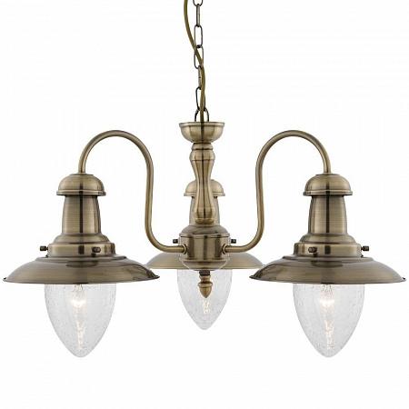 Подвесная люстра Arte Lamp Fisherman A5518LM-3AB