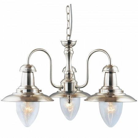 Подвесная люстра Arte Lamp Fisherman A5518LM-3SS