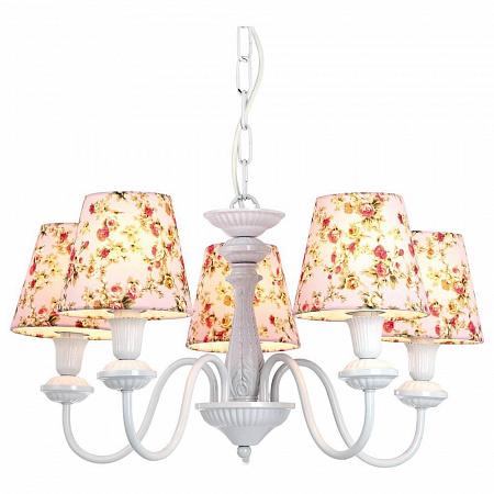 Подвесная люстра Arte Lamp Provence A9212LM-5WH