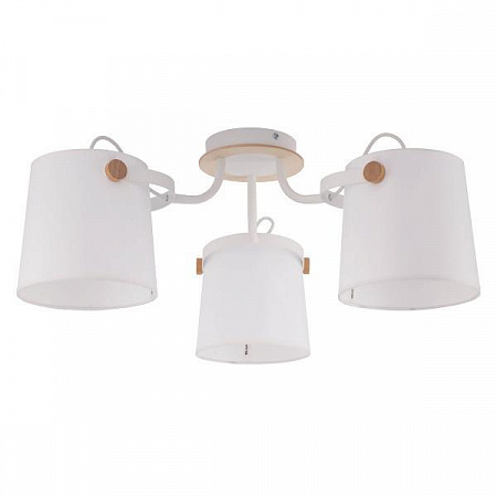 Потолочная люстра TK Lighting 1253 Click White 3
