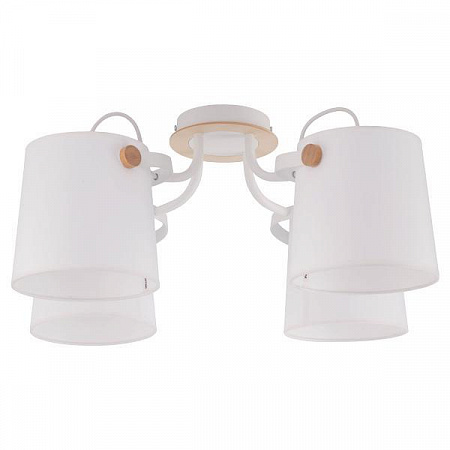 Потолочная люстра TK Lighting 1254 Click White 4