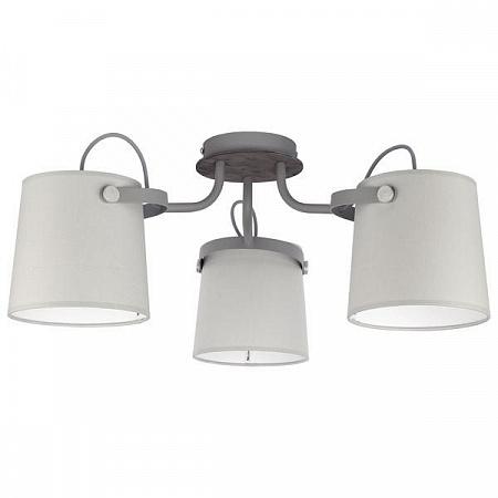 Потолочная люстра TK Lighting 1263 Click Gray 3
