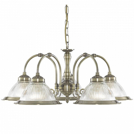 Подвесная люстра Arte Lamp American Diner A9366LM-5AB
