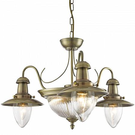 Подвесная люстра Arte Lamp Fisherman A5518LM-2-3AB