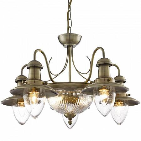 Подвесная люстра Arte Lamp Fisherman A5518LM-2-5AB
