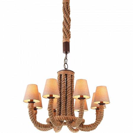 Подвесная люстра Arte Lamp Corda A8958LM-8BR