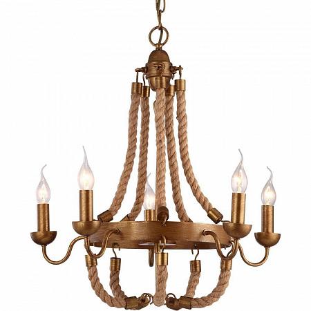 Подвесная люстра Arte Lamp Amaca A8957LM-5BZ