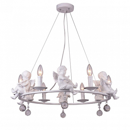 Подвесная люстра Arte Lamp Amur A4288LM-6WH