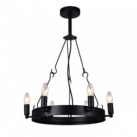 Подвесная люстра Arte Lamp Bastiglia A8811SP-6BK