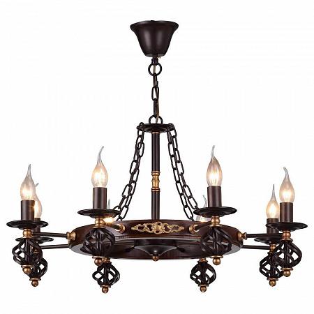 Подвесная люстра Arte Lamp Cartwheel A4550LM-8CK