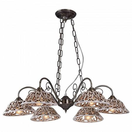 Подвесная люстра Arte Lamp Carved A5387LM-6AB