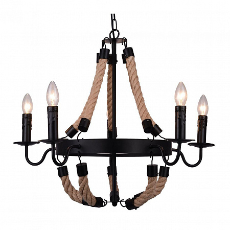 Подвесная люстра Arte Lamp Marsiglia A8956LM-5BK