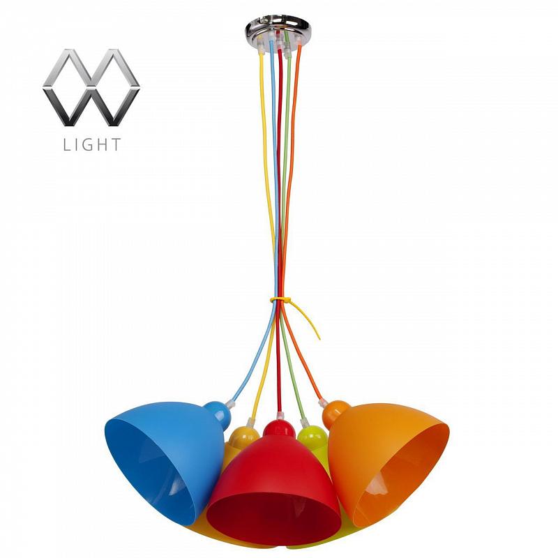 Подвесная люстра MW-Light Улыбка 365014505