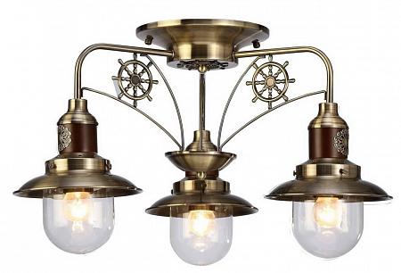 Потолочная люстра Arte Lamp Sailor A4524PL-3AB