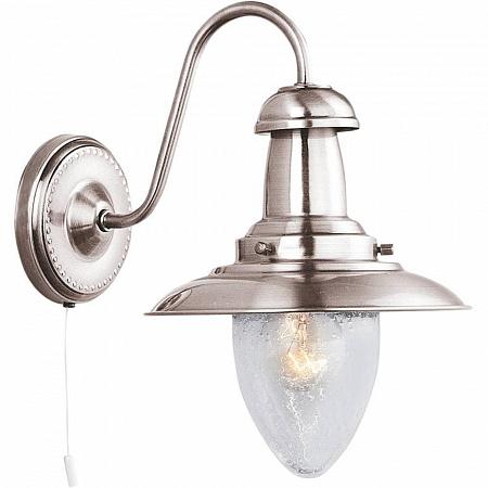 Бра Arte Lamp Fisherman A5518AP-1SS