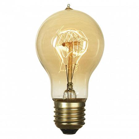 Лампа накаливания E27 60W 2700K колба прозрачная GF-E-719