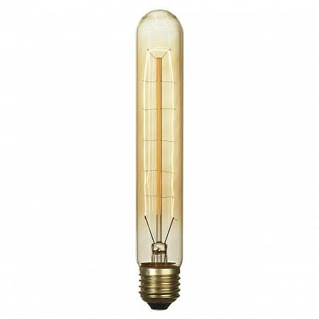 Лампа накаливания E27 60W 2700K цилиндр прозрачный GF-E-718