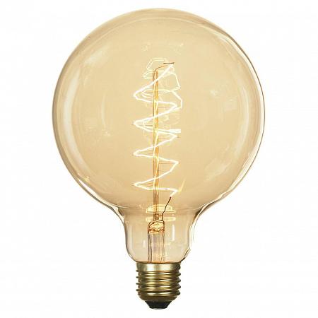 Лампа накаливания Е27 60W 2700K шар прозрачная GF-E-760