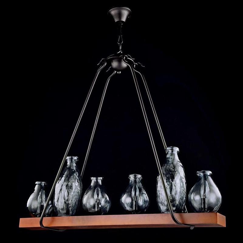 Подвесная люстра Maytoni Flask H100-66-R