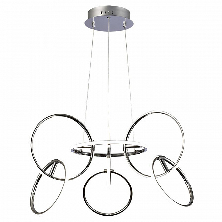 Подвесной светодиодный светильник с пультом ДУ Mantra Aros 5751