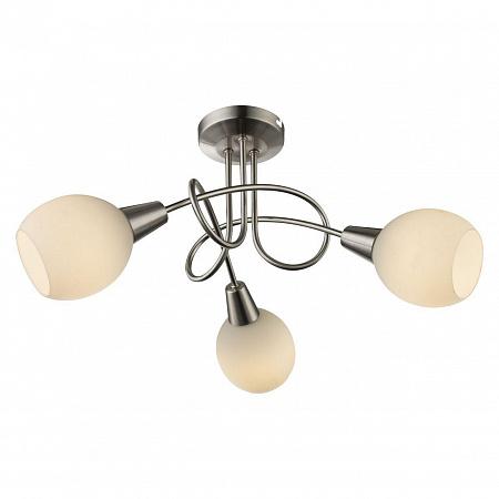 Потолочная светодиодная люстра с пультом ДУ Globo Elliott 54351-3RGB