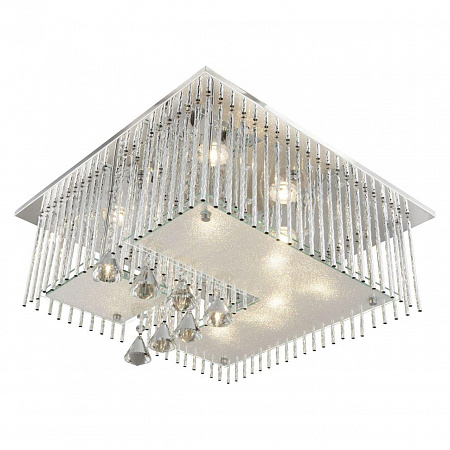 Потолочный светодиодный светильник с пультом ДУ Globo Fragilis 68563-5RGB