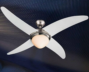 Люстра-вентилятор с пультом ДУ Globo 03060