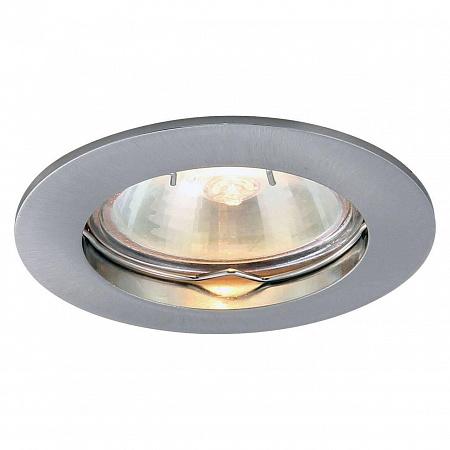Встраиваемый светильник Arte Lamp Basic A2103PL-1SS