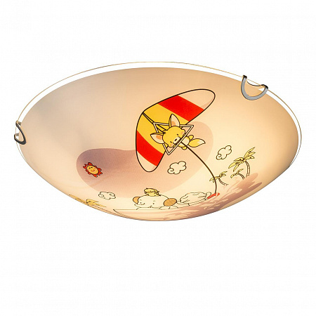 Настенно-потолочный светильник Globo Kiddy 40608
