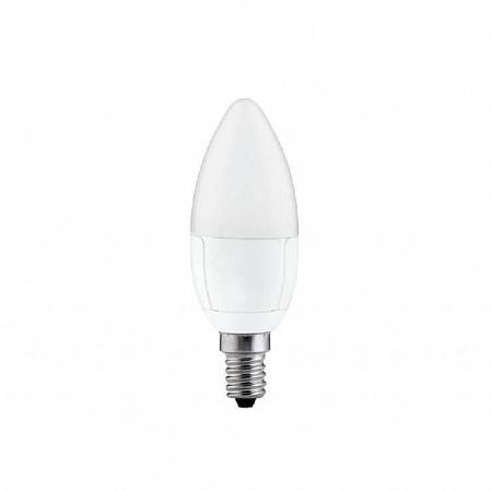 Лампа светодиодная E14 6.5W 2700K свеча матовая 28208