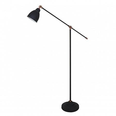 Торшер Arte Lamp Braccio A2054PN-1BK