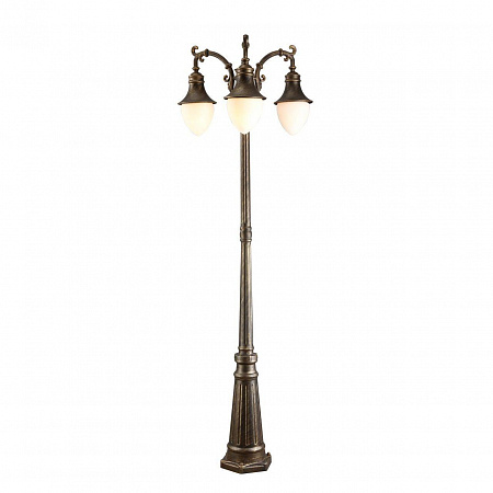 Садово-парковый светильник Arte Lamp Vienna A1317PA-3BN