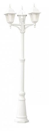 Садово-парковый светильник Arte Lamp Bremen A1017PA-3WH