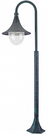 Уличный светильник Arte Lamp Malaga A1086PA-1BG