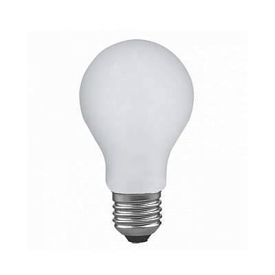 Лампа накаливания диммируемая ударопрочная E27 100W 2700K груша матовая 40020
