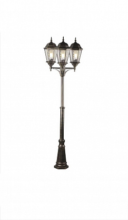 Садово-парковый светильник Arte Lamp Genova A1207PA-3BN