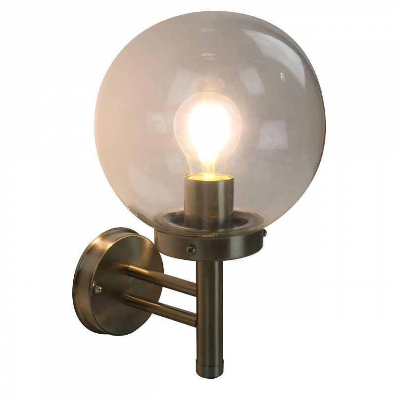 Уличный настенный светильник Arte Lamp Gazebo A8365AL-1SS